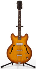 Musical Instruments:Electric Guitars, 1964 Epiphone E230T Casino Sunburst Semi-Hollow Body Electric Guitar, #157462....