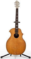 Musical Instruments:Acoustic Guitars, Vintage Kay Kraft Natural Archtop Acoustic Project Guitar, #N/A....