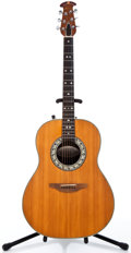 Musical Instruments:Acoustic Guitars, Ovation 1112-4 Natural Acoustic Electric Guitar, #045459....