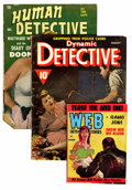 Magazines:Miscellaneous, Assorted Detective Magazines Group (Various, 1930-53) Condition:Average GD/VG.... (Total: 12 Items)
