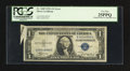 Error Notes:Attached Tabs, Fr. 1608 $1 1935A Silver Certificate. PCGS Very Fine 25PPQ.. ...