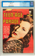 Golden Age (1938-1955):Romance, Teen-Age Parade #4 Canadian Edition (Bell Features, 1950) CGC FN+6.5 Cream to off-white pages....