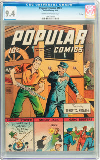 Popular Comics #103 File Copy (Dell, 1944) CGC NM 9.4 Cream to off-white pages