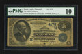 National Bank Notes:Missouri, Saint Louis, MO - $5 1882 Date Back Fr. 534 The NB of Commerce Ch.# (M)4178. ...