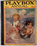 Books:Children's Books, The Playbox Annual 1914. London: Playbox Annual, [1914].Octavo. Publisher's binding. Illustrated throughout. Color plat...