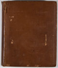 Books:First Editions, D. H. Lawrence. Sea and Sardinia. London: Martin Secker,[1923]. First British edition. Octavo. Publisher's binding....