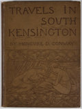 Books:First Editions, Moncure Daniel Conway. Travels in South Kensington. NewYork: Harper & Brothers, 1882. First edition. Octavo. Publis...