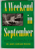 Books:First Editions, John Edward Weems. A Weekend in September. New York: HenryHolt, [1957]. First edition. Octavo. Publisher's binding ...