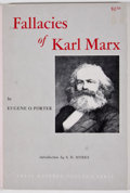 Books:First Editions, Eugene O. Porter. Fallacies of Karl Marx. El Paso: TexasWestern College, 1962. First trade edition. Octavo. Publish...