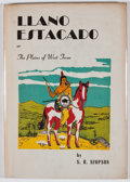 Books:First Editions, S. R. Simpson. Llano Estacado or The Plains of West Texas.San Antonio: Naylor, [1957]. First edition. Octavo. Publi...
