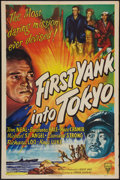 "Movie Posters:War, First Yank into Tokyo (RKO, 1945). One Sheet (27"" X 41"") and LobbyCard (11"" X 14""). War.. ... (Total: 2 Items)"