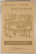 Books:Signed Editions, Elroy Bode. SIGNED by CISNEROS. Elroy Bode's Texas Sketchbook: A Sheaf of Prose Poems. El Paso: Texas Western Press,...