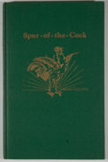 Books:First Editions, J. Frank Dobie [editor]. Spur-of-the-Cock. Austin: TexasFolk-Lore Society, 1933....