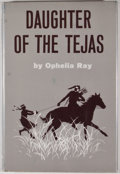 Books:First Editions, [Larry McMurtry]. Ophelia Ray. Daughter of the Tejas.Greenwich: New York Graphic Society, [1965]....