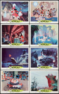 "Movie Posters:Animated, Peter Pan (Buena Vista, R-1969). Lobby Cards (8) (11"" X 14"") andOne Sheets (2) (27"" X 41""). Animated.. ... (Total: 10 Items)"