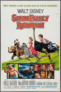 "Movie Posters:Adventure, Swiss Family Robinson Lot (Buena Vista, R-1972). One Sheets (2)(27"" X 41""), Half Sheet (22"" X 28"") and Three Sheet (41"" X 8...(Total: 4 Items)"