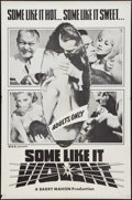"""Movie Posters:Exploitation, Some Like It Violent (Unknown, 1968). One Sheet (27"""" X 41"""").Exploitation.. ..."""