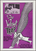 "Movie Posters:Sexploitation, The Velvet Trap (Craddock Films, 1966). One Sheet (28"" X 40"").Sexploitation.. ..."
