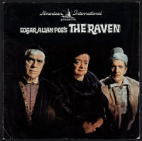"The Raven (American International, 1963). Promotional Record and Souvenir Program (14 Pages, 9.5"" X 9.5""). Hor..."
