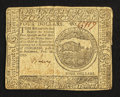 Colonial Notes:Continental Congress Issues, Continental Currency February 26, 1777 $4 Very Fine.. ...
