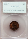 Proof Indian Cents: , 1889 1C PR63 Red and Brown PCGS. PCGS Population (41/135). NGCCensus: (28/152). Mintage: 3,336. Numismedia Wsl. Price for ...