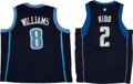 Basketball Collectibles:Uniforms, Deron Williams and Jason Kidd Signed Jerseys Lot of 2....