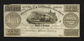 Canadian Currency: , Montreal, LC- Champlain & St. Lawrence Rail Road 2s6d Aug. 1,1857. ...
