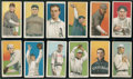 Baseball Cards:Lots, 1909-11 T206 White Border Tobacco Baseball Collection (12Different). ...