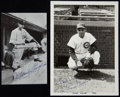 Baseball Collectibles:Photos, Circa 1930's and 1940's Chicago Cubs Signed and Unsigned Original Photographs and Postcards Lot of 50+....