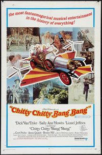 "Chitty Chitty Bang Bang (United Artists, 1969). One Sheet (27"" X 41"") Style B. Fantasy"
