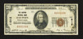 National Bank Notes:Pennsylvania, Dauphin, PA - $20 1929 Ty. 1 The Dauphin NB Ch. # 11512. ...
