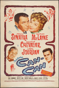 "Can-Can (20th Century Fox, 1960). Posters (2) (40"" X 60"") Style Y & E. Musical. ... (Total: 2 Items)"