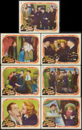 """Movie Posters:Comedy, My Favorite Blonde (Paramount, 1942). Lobby Cards (7) (11"""" X 14"""").Comedy.. ... (Total: 7 Items)"""