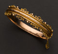 Estate Jewelry:Bracelets, English 9k Rose Gold Bracelet. ...