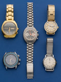Timepieces:Wristwatch, Five Unusual Wristwatches For Restoration. ... (Total: 5 Items)