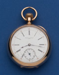 Timepieces:Pocket (pre 1900) , Vacheron & Constantin 52 mm 14k Rose Gold Pocket Watch. ...