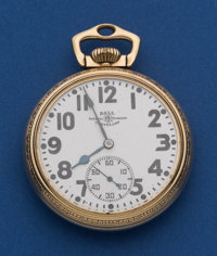 Ball 16 Size 21 Jewel Official Standard Pocket Watch