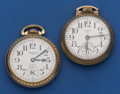 Timepieces:Pocket (post 1900), Two 16 Size Pocket Watches Runners. ... (Total: 2 Items)
