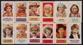 "Non-Sport Cards:Lots, 1949 R714-25 Topps ""X-Ray Round Up"" High Grade Collection (27 Different). ..."