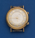 Timepieces:Pocket (post 1900), LeCoultre Gold Filled Memovox Alarm Wristwatch. ...