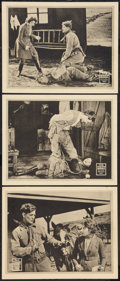 """Movie Posters:Serial, The Moon Riders (Universal, 1920). Lobby Cards (3) (11"""" X 14"""") Episode 5 -- """"The Death Trap."""" Serial.. ... (Total: 3 Items)"""