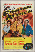 "Movie Posters:War, Fighter Attack Lot (Allied Artists, 1953). One Sheets (2) (27"" X41""). War.. ... (Total: 2 Items)"