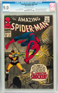 Silver Age (1956-1969):Superhero, The Amazing Spider-Man #46 (Marvel, 1967) CGC VF/NM 9.0 Off-white to white pages....