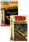 Golden Age (1938-1955):Science Fiction, Weird Science-Fantasy #23 and 26 Group (EC, 1954) Condition:Average VG.... (Total: 2 Comic Books)