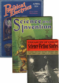 Magazines:Miscellaneous, Assorted Science Fiction Magazines Group (Various, 1923-62)Condition: Average VG.... (Total: 10 Items)
