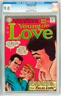 Silver Age (1956-1969):Romance, Young Love #54 Savannah pedigree (DC, 1966) CGC VF/NM 9.0 Off-whiteto white pages....