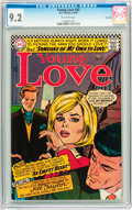 Silver Age (1956-1969):Romance, Young Love #55 Savannah pedigree (DC, 1966) CGC NM- 9.2 Off-whitepages....