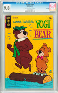 Bronze Age (1970-1979):Cartoon Character, Yogi Bear #41 File Copy (Gold Key, 1970) CGC NM/MT 9.8 Off-white towhite pages....