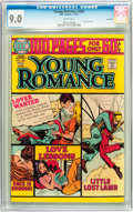 Bronze Age (1970-1979):Romance, Young Romance #203 Savannah pedigree (DC, 1975) CGC VF/NM 9.0 Whitepages....