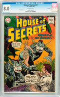 Silver Age (1956-1969):Horror, House of Secrets #29 Savannah pedigree (DC, 1960) CGC VF 8.0Off-white pages....